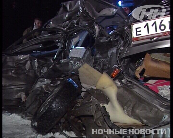 В аварии на ЕКАД погибли два человека