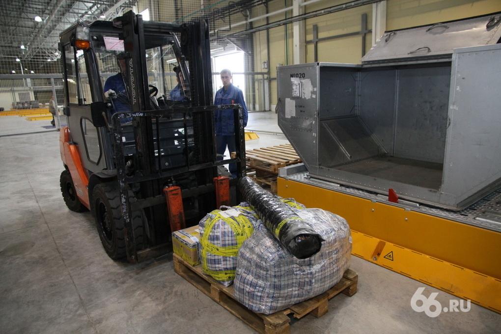 Теперь как в Москве: в Кольцово открылся грузовой терминал
