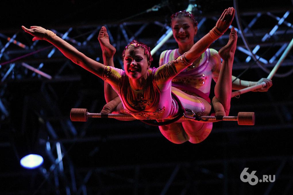 Cirque du Soleil приедет в Екатеринбург в конце ноября