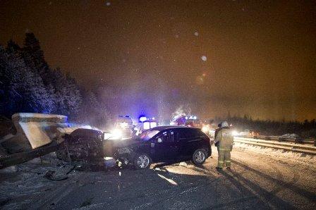 Пять человек пострадали в ДТП под Ревдой