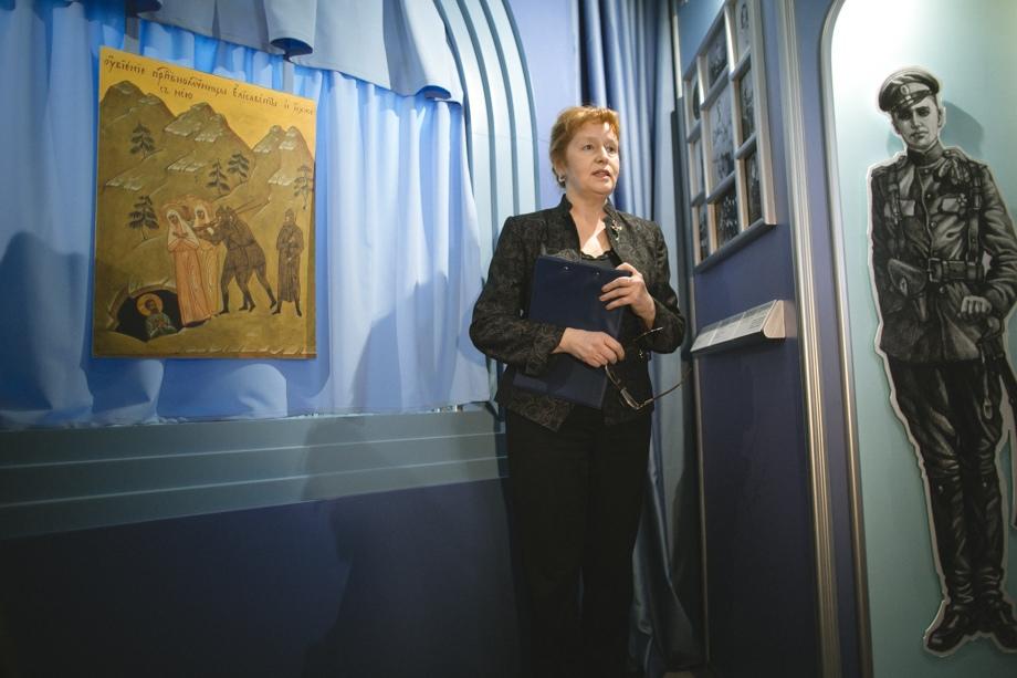 Члены царской семьи стали «актерами» свердловского музея