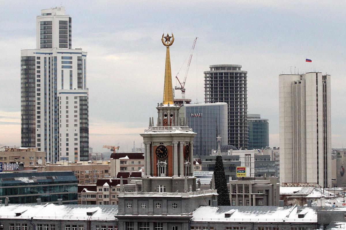 Как Севастополь: депутат просит Путина сделать Екатеринбург городом федерального значения