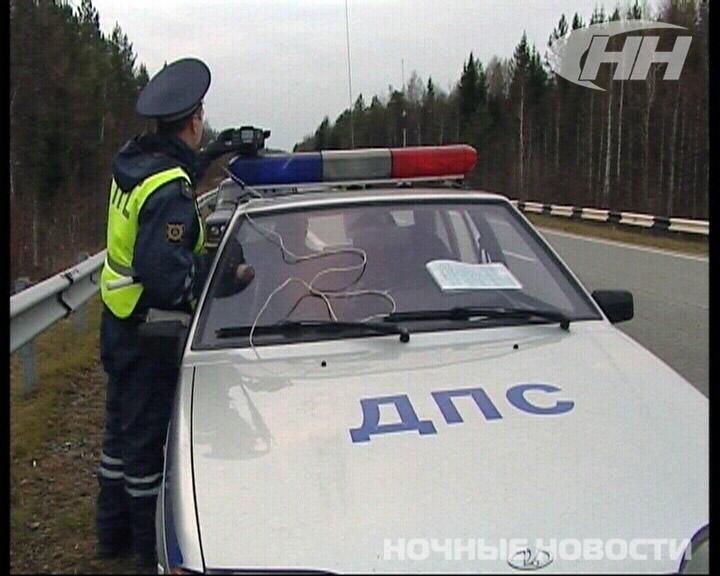 Полицейские вышли в рейд на Серовский тракт