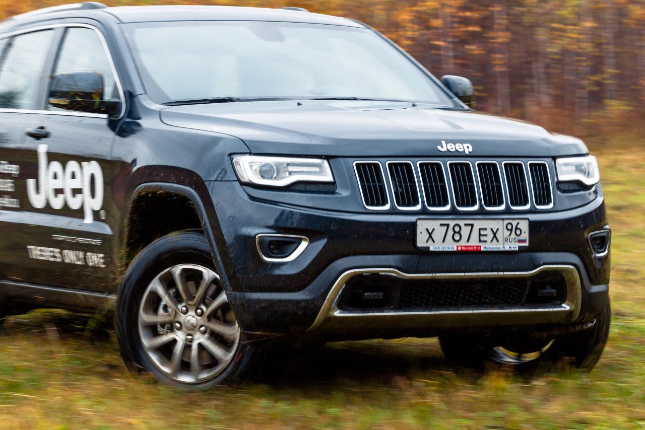 «Тончик набросали, припудрили — и вперед»: пробуем похорошевший Jeep Grand Cherokee
