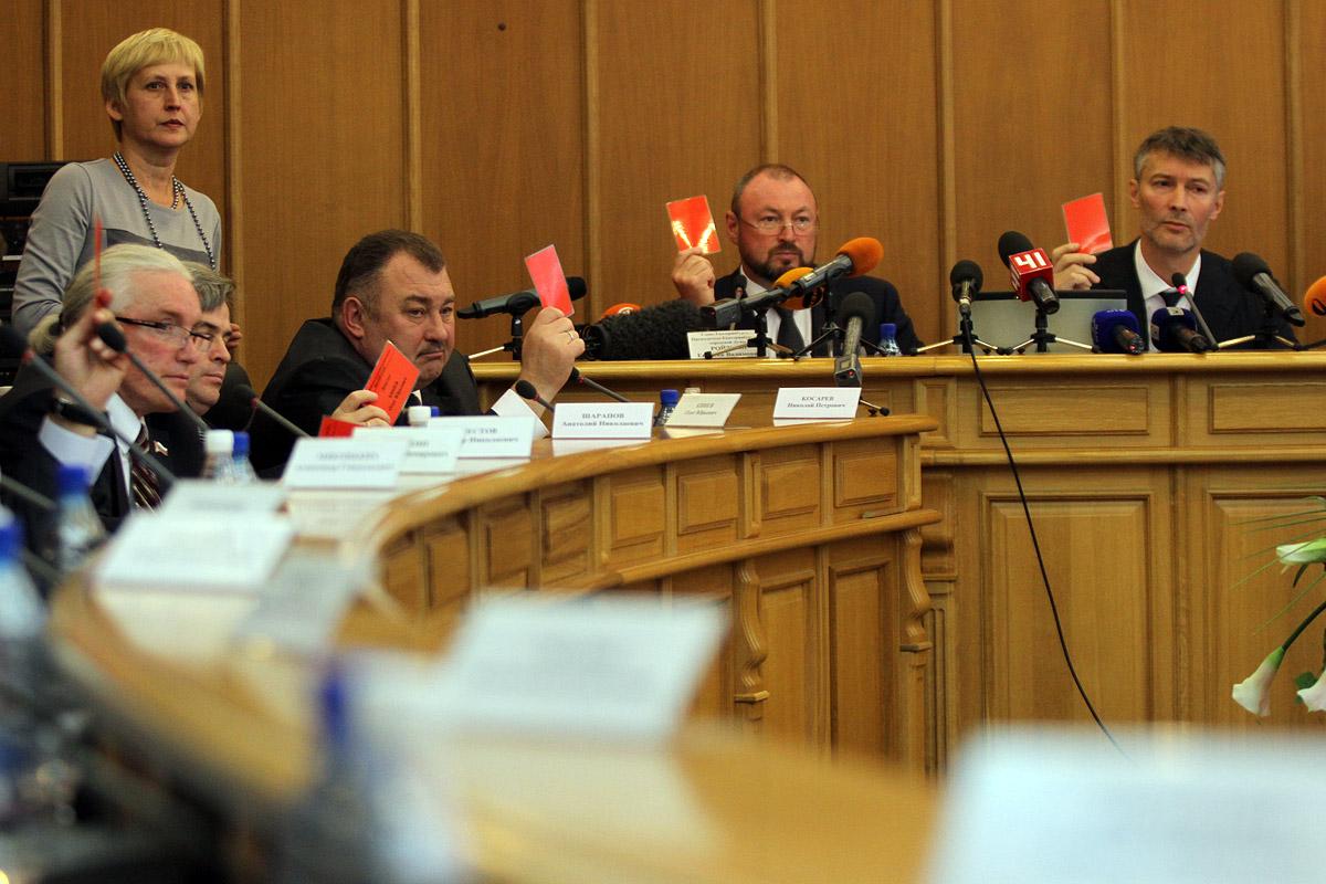 Екатеринбуржцев зовут на общественные слушания о судьбе Счетной палаты
