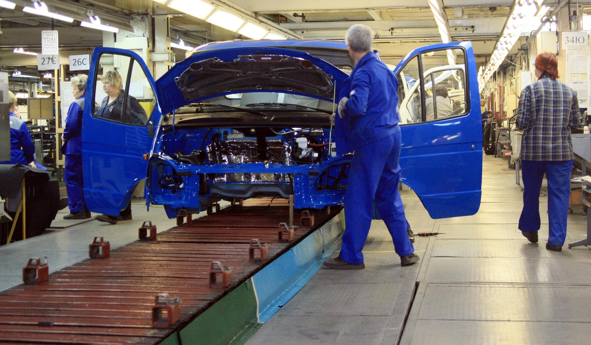 Рост российской промышленности остановился
