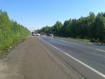 Сегодня в авариях на Серовском тракте погибли пять человек