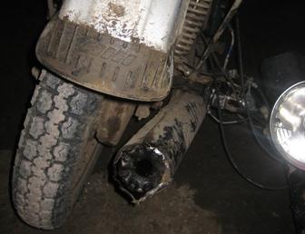 В Североуральске иномарка на встречке врезалась в мотоцикл