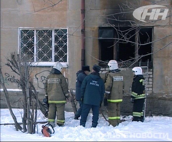 В пожаре на Краснофлотцев погибли женщина и маленькая девочка