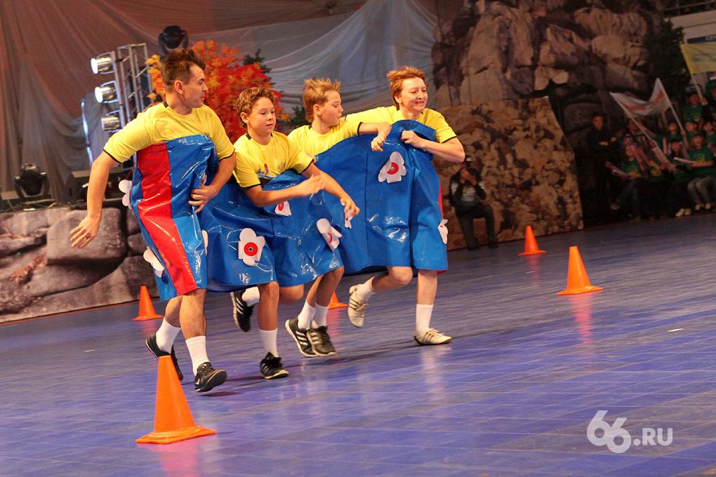 Семьи рулят: в Екатеринбурге выбрали самое спортивное семейство