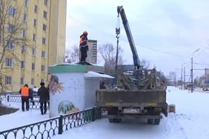 С улиц Уралмаша и Эльмаша уберут более 100 ларьков