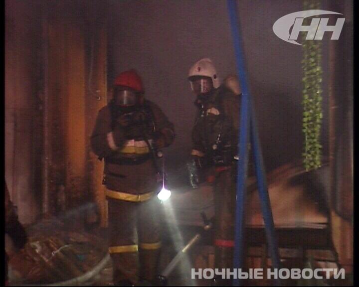 На Куйбышева сгорел магазин «Монетка»