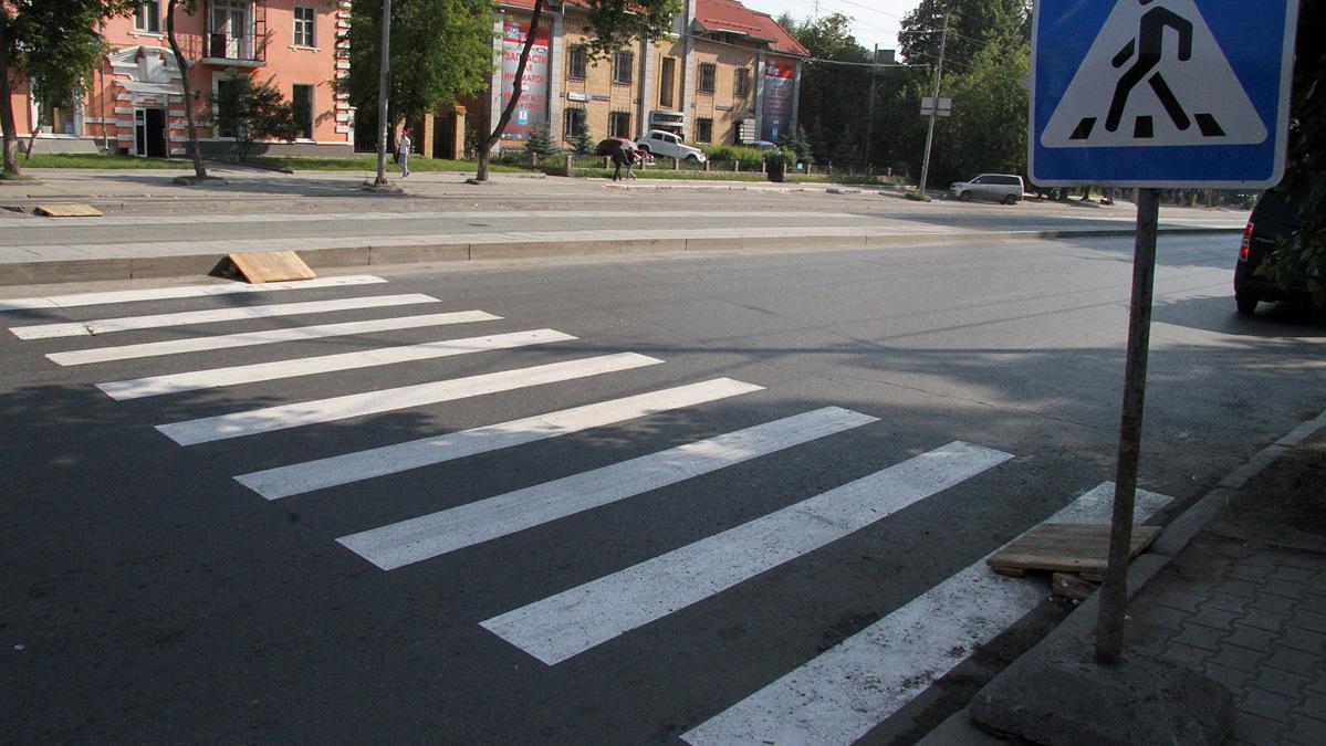 На Луначарского водитель избил пешехода за сделанное ему замечание