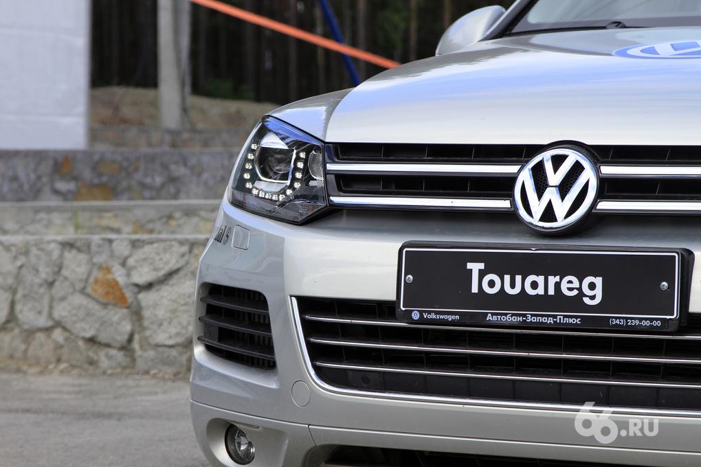 Volkswagen Off-road Experience: воскресная прогулка по карьеру