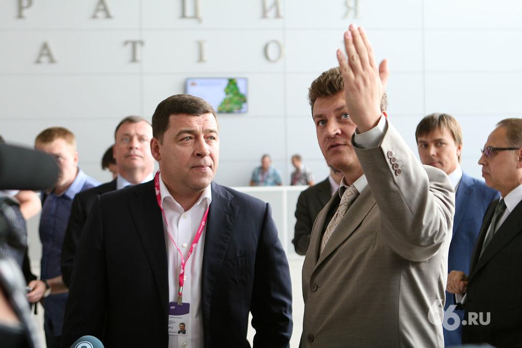 Губернаторская ревизия: Куйвашеву показали недостроенный «Иннопром»