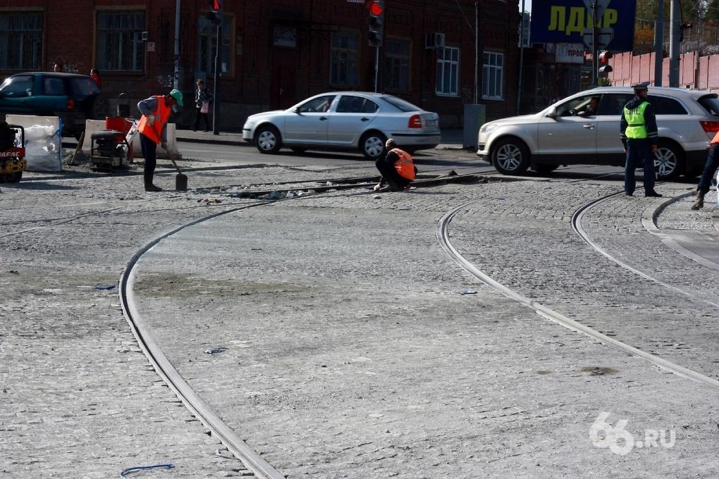 На выходные закрывается движение трамваев по Московской