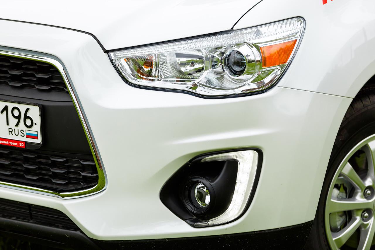 Хроническая работа над ошибками: тестируем опять обновленный Mitsubishi ASX