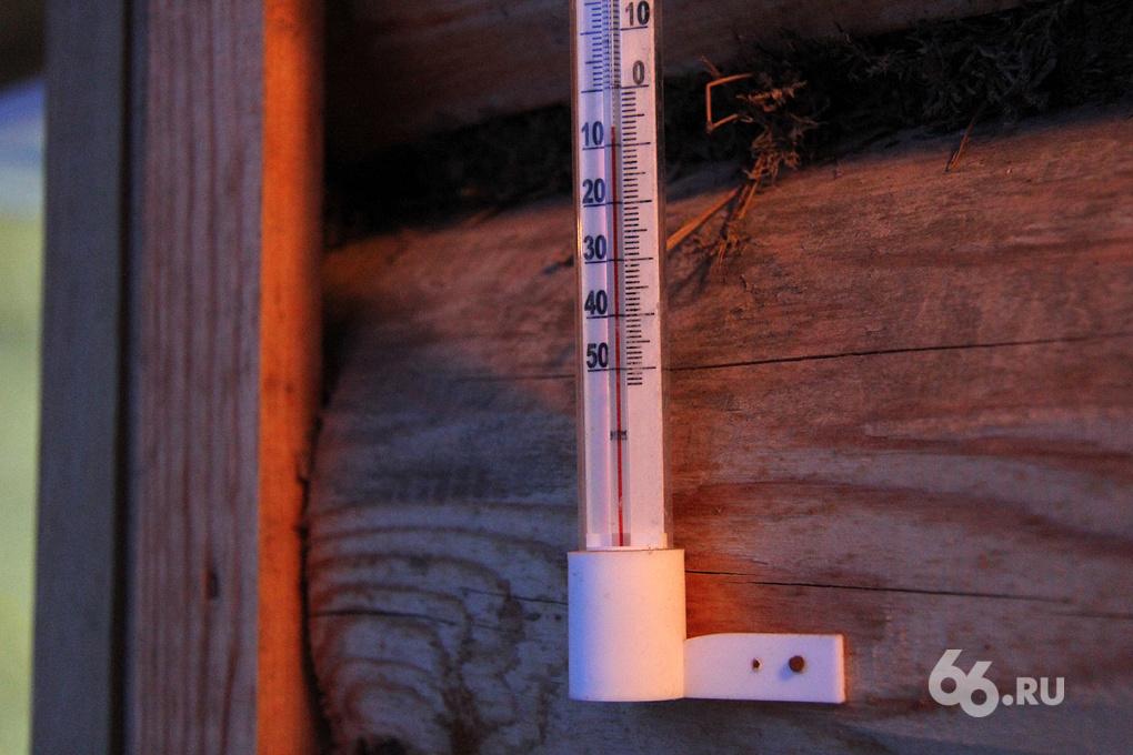 Плюсовая температура держится в Екатеринбурге последние дни