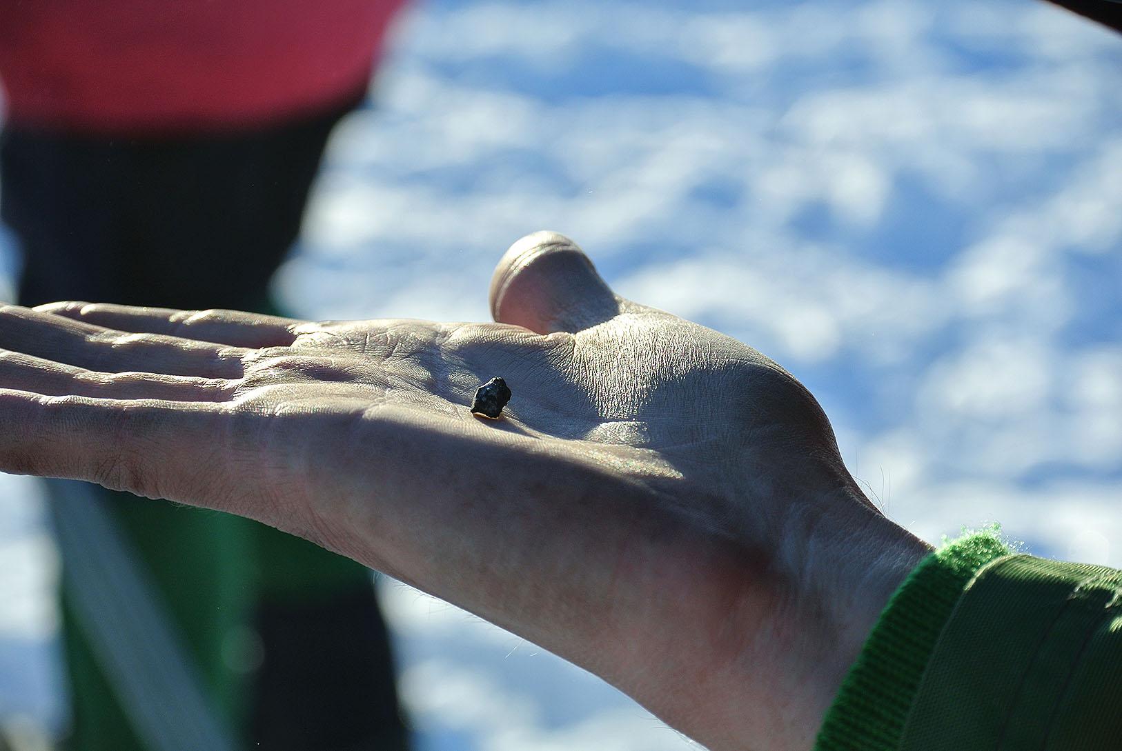 Полиция не отдаст фрагменты челябинского метеорита ученым УрФУ