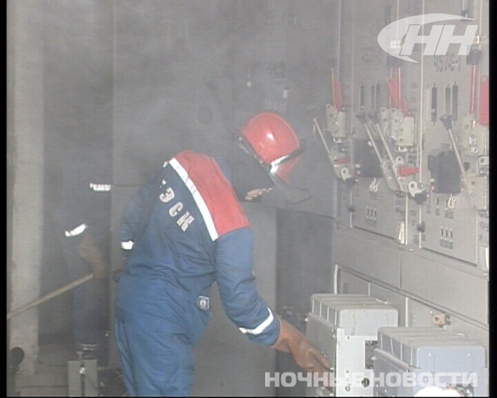 Несколько домов остались без света из-за пожара на Татищева