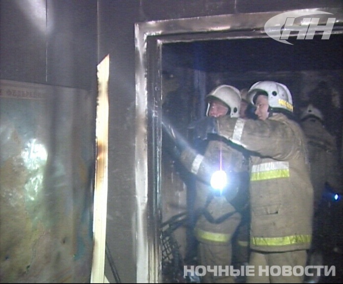 В пожаре на улице Вишневой погиб мужчина
