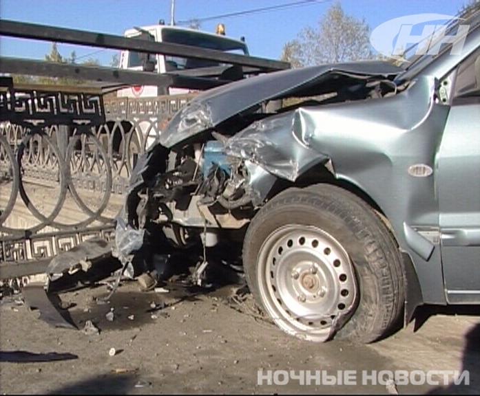 Утреннее ДТП на Блюхера спровоцировал сотрудник полиции