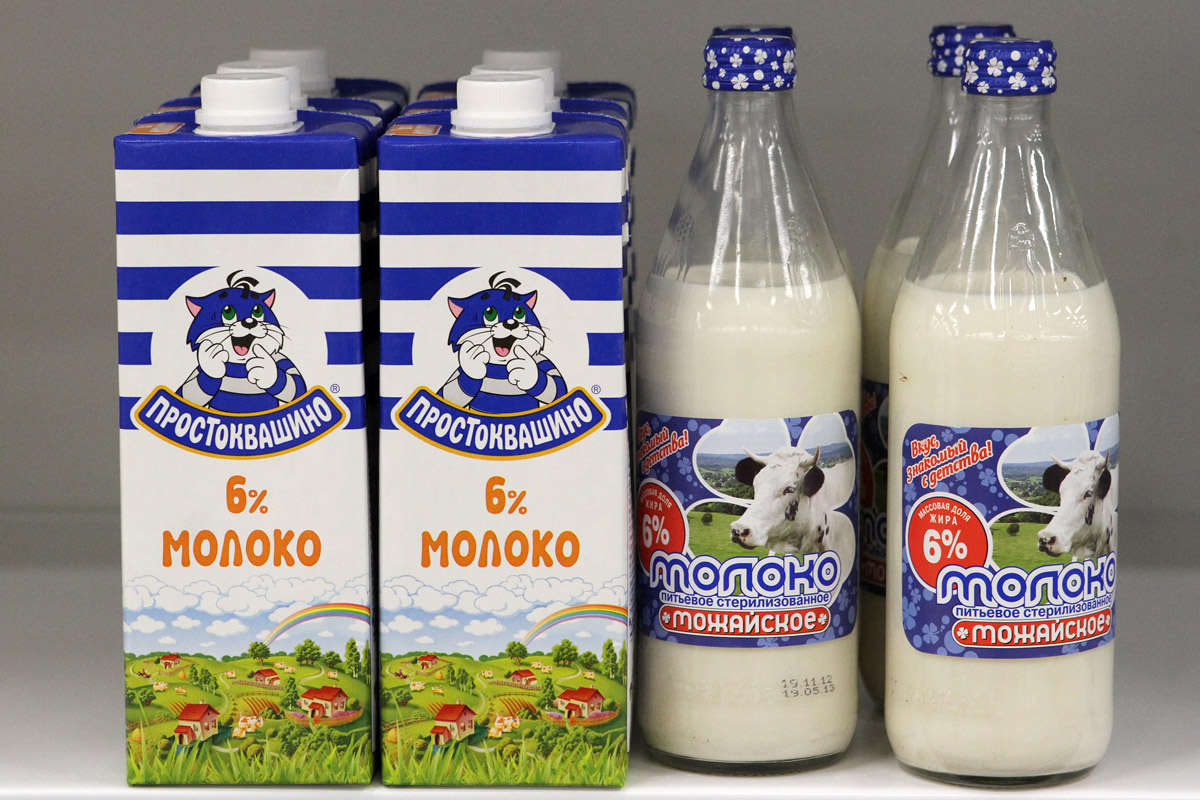 За год область надоила 450 тысяч тонн молока