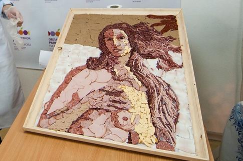В Екатеринбурге открылась колбасная картинная галерея