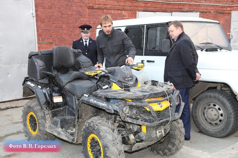 Биатлонисту Антону Шипулину вернули украденный квадроцикл