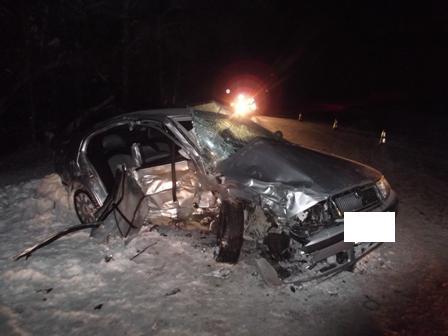 В ДТП возле Нижних Серег один человек погиб и трое получили травмы