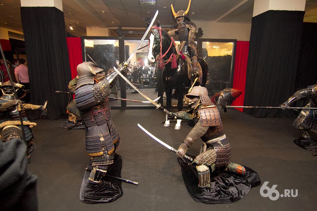 Самураи. Art of War: в Екатеринбург приехала популярнейшая выставка