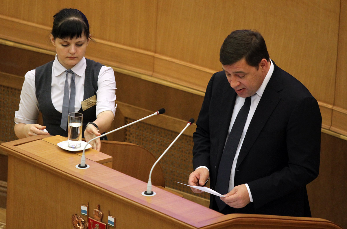 Губернатор Куйвашев послал черную метку сити-менеджеру Якобу