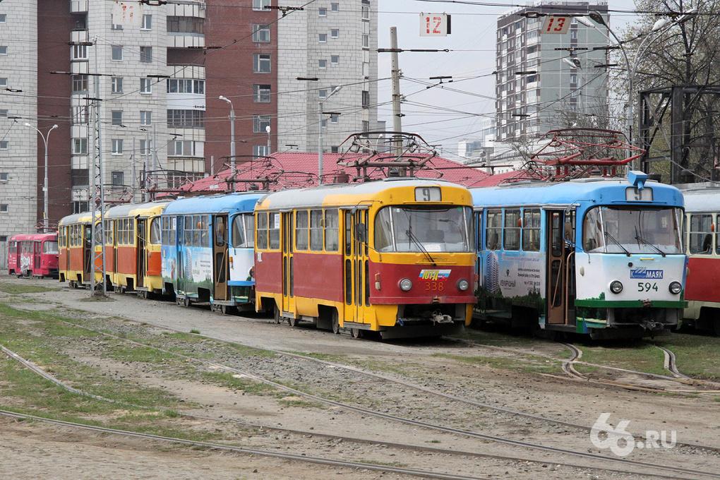 В выходные движение трамваев на ЖБИ закроется
