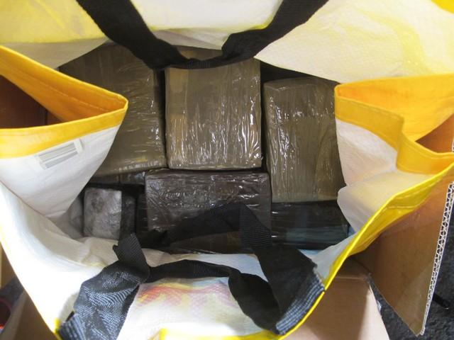 Наркополицейские изъяли 34 кг гашиша, предназначенного для Екатеринбурга