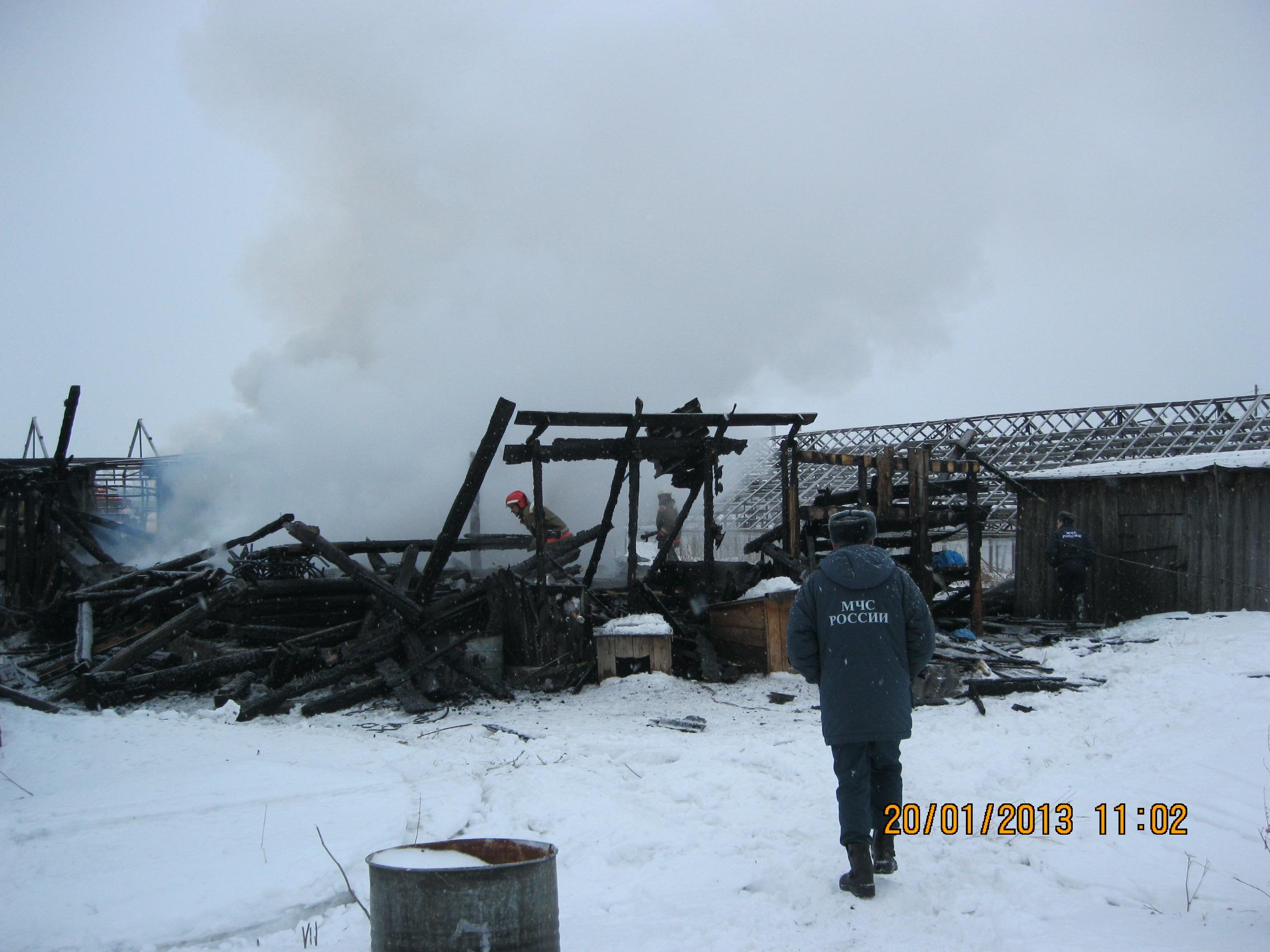 Из-за пожара в поселке Садовый сгорели 8 человек