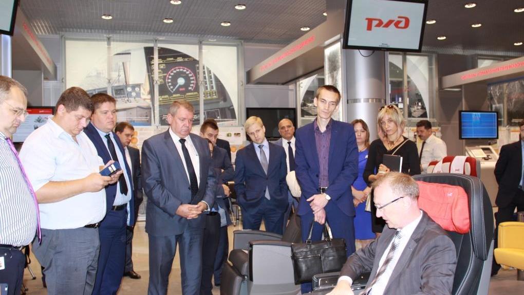 «Уральские локомотивы» и ФПК протестировали сидения для новой модификации скоростного электропоезда