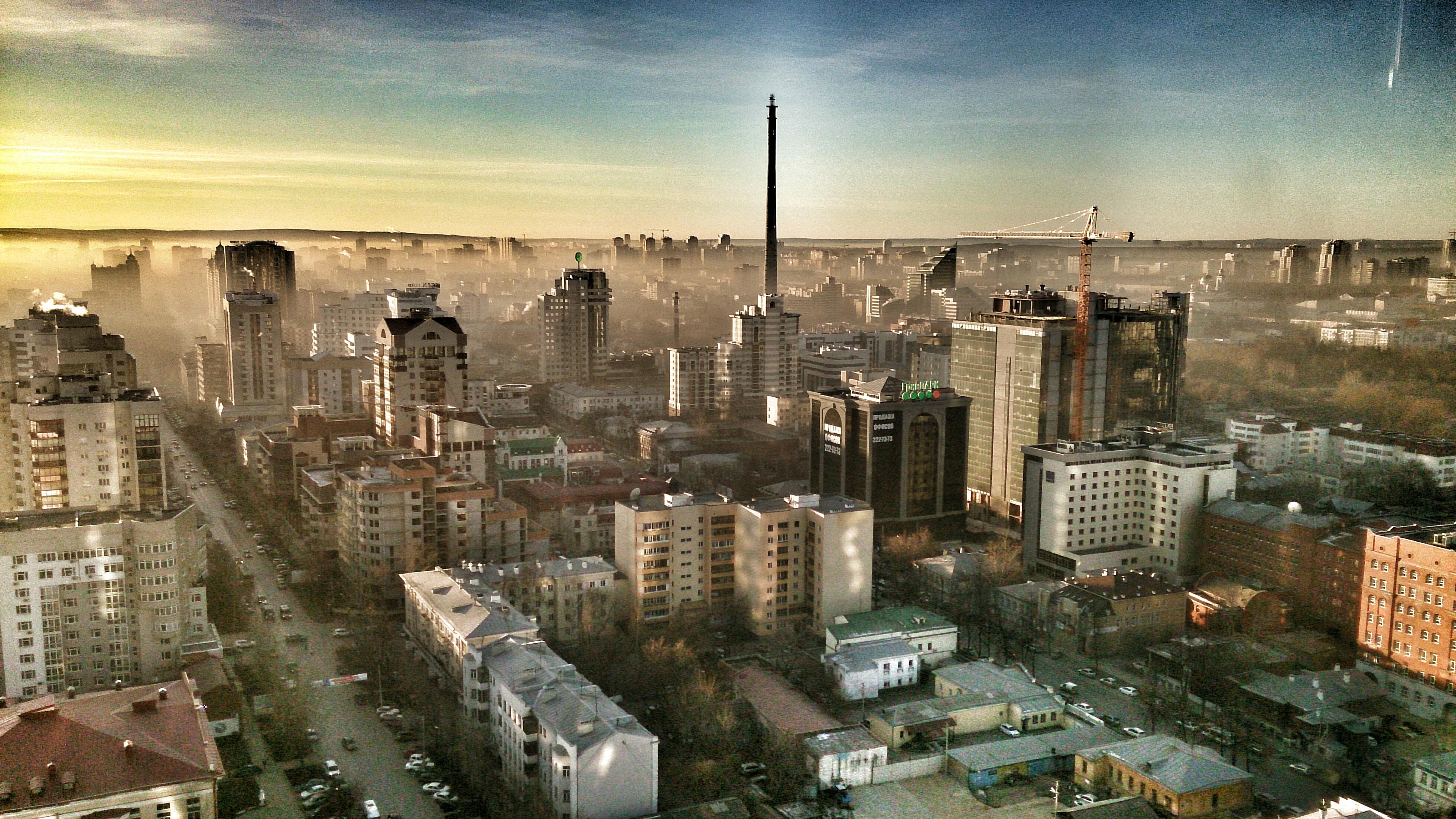 Екатеринбург задыхается от пыли. Требуем штормового предупреждения