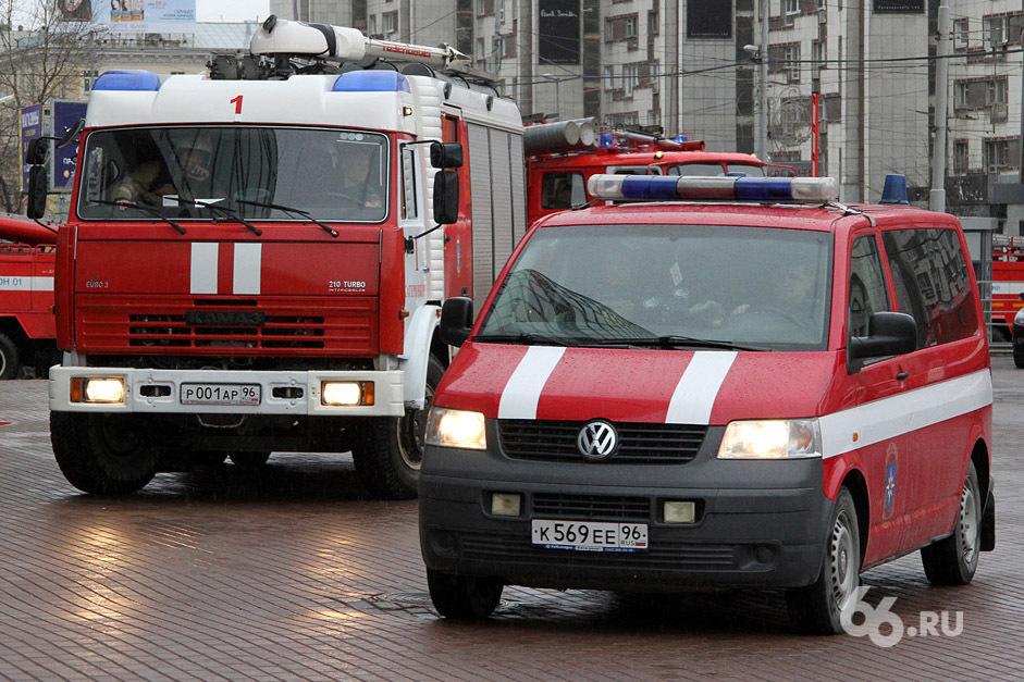 Пожарные откроют двери депо для любопытных екатеринбуржцев