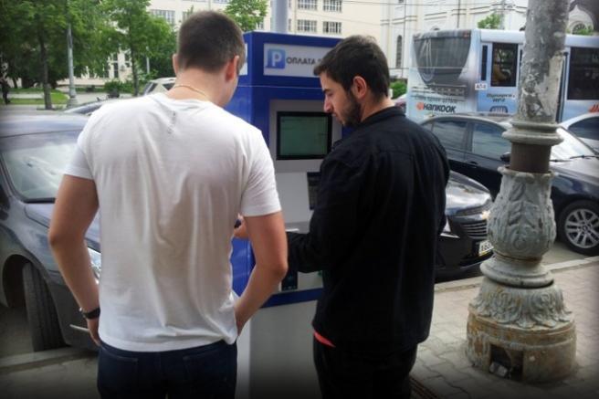 Мэрия собрала миллион рублей на платной парковке