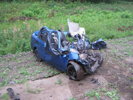 На трассе Екатеринбург — Тюмень погибли два человека