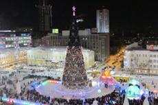 Ледовый городок на площади 1905 года откроют 30 декабря