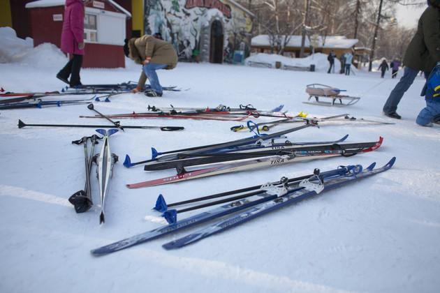 В Екатеринбурге открылись 10 лыжных трасс