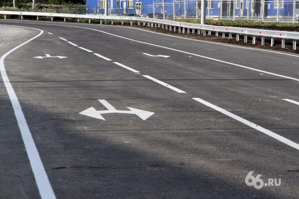 Пластиковой разметки на дорогах Екатеринбурга станет больше