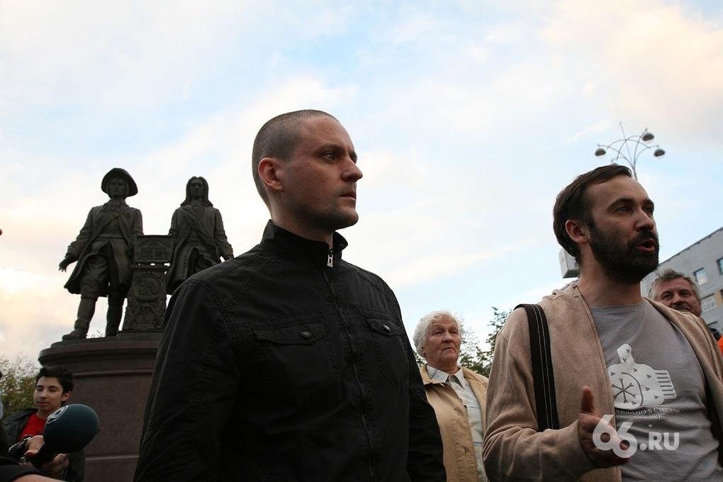 Мосгорсуд признал Удальцова и Развозжаева виновными в организации беспорядков