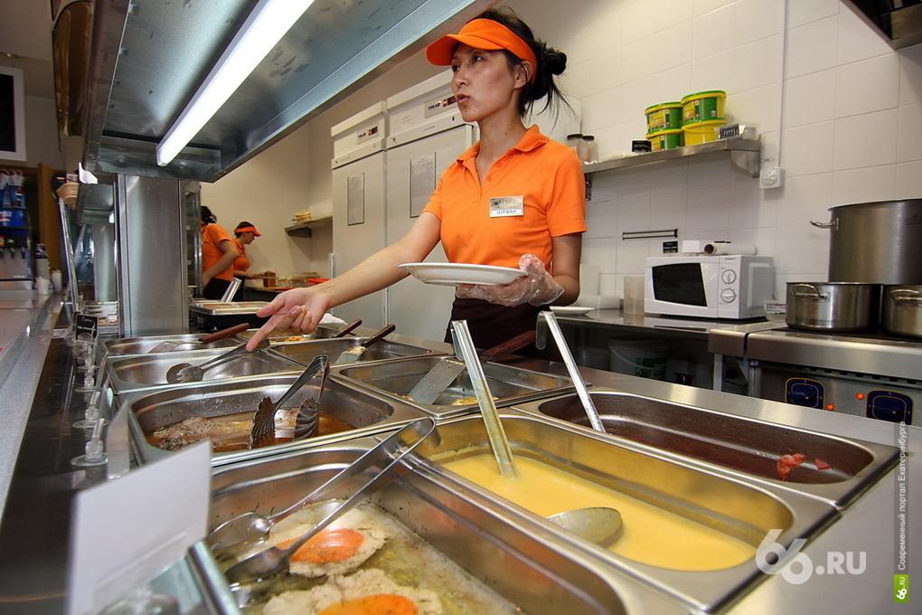 В столовых «Вилка-Ложка» в Екатеринбурге нарушали условия хранения продуктов