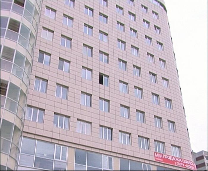 Из офисника на Московской эвакуировали 70 человек