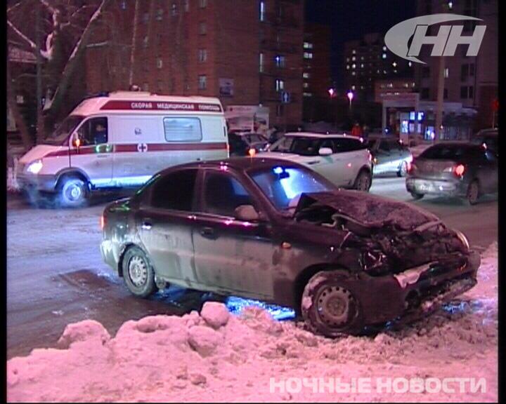 В Екатеринбурге столкнулись Chevrolet Lanos и Subaru