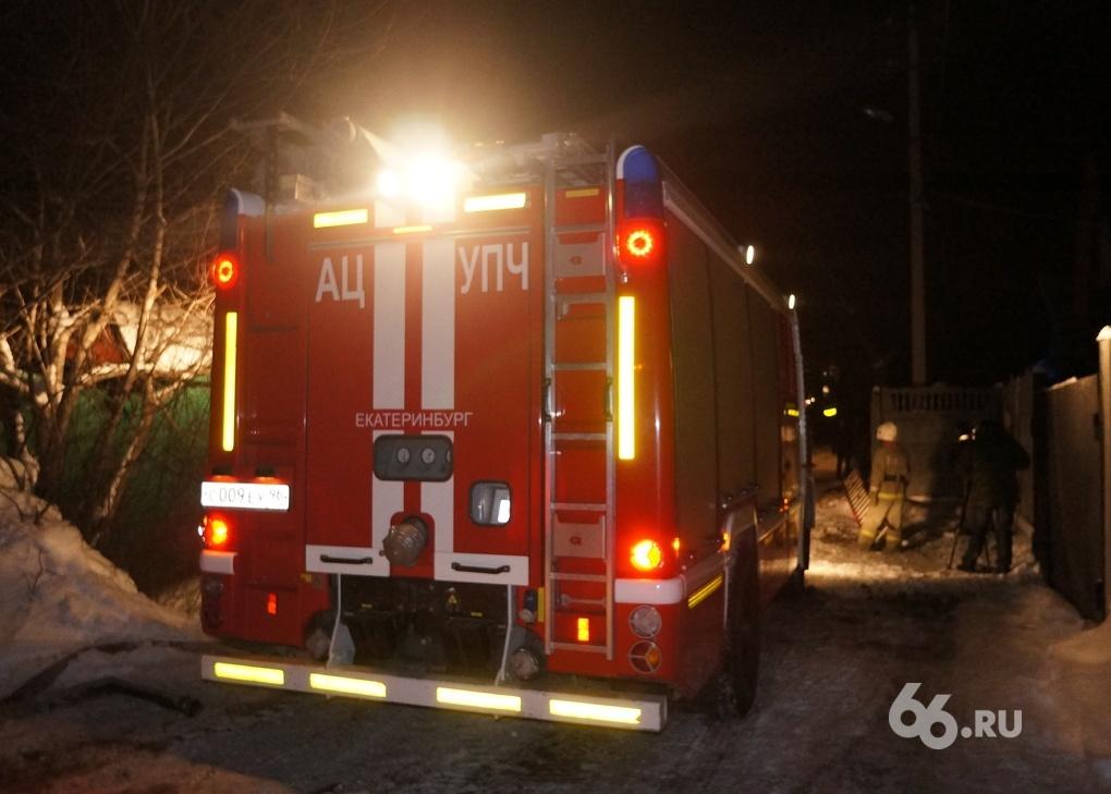 В поселке Рудничный мужчина погиб во время пожара