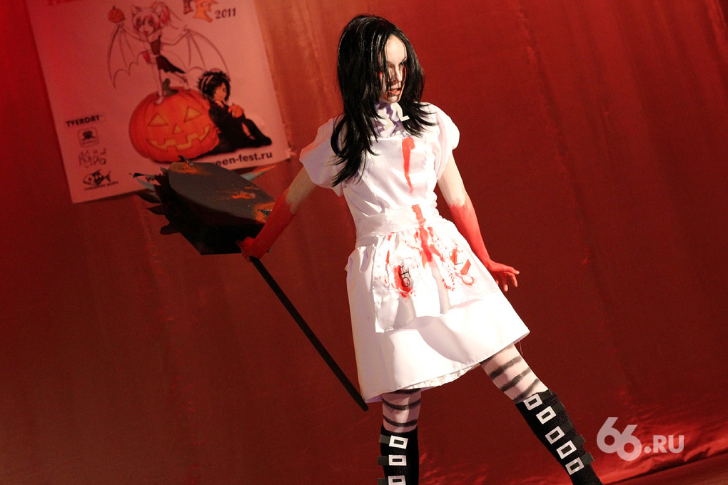 Фоторепортаж 66.ru: Аниме-фестиваль HalloweenFest–2011