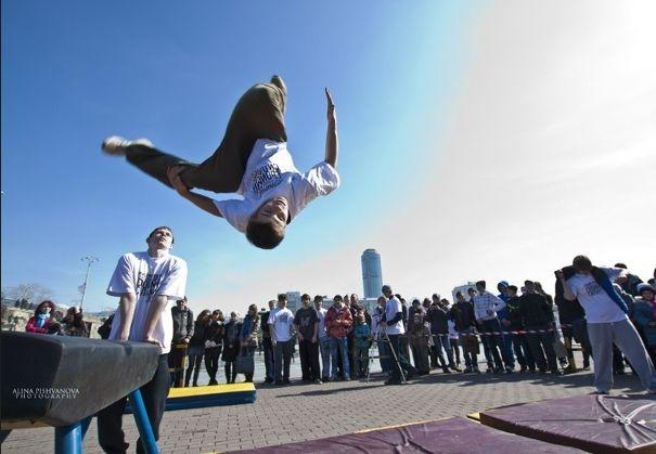 Соревнования по паркуру пройдут в центре Екатеринбурга